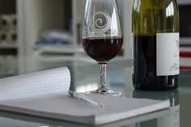 wine and write